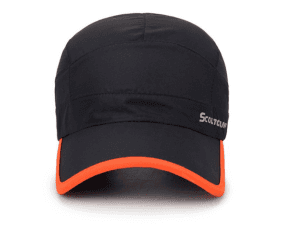 Custom silk printed  logo sport caps and hats breathable sunscreen outdoor hats men