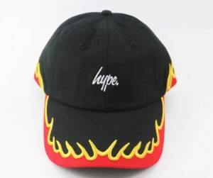Cotton dad cap custom 100% cotton snapback cap and hat with 3d embroidery fire LOGO