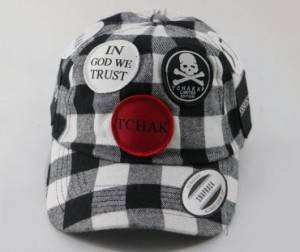 Factory Price Custom Leather Gloves - Plaid dad hat   High Quality plaid Custom woven patch logo dad hats and caps  – Worldlink
