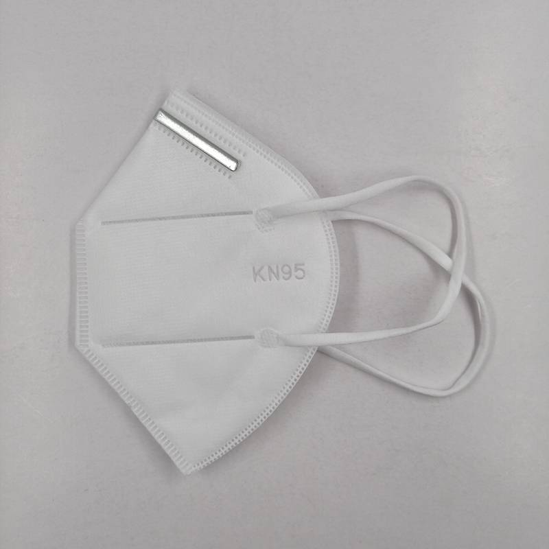 Wholesale Elastic Earloop kn95 Face Mask Protective Disposable Medical Dust Mask From China Featured Image