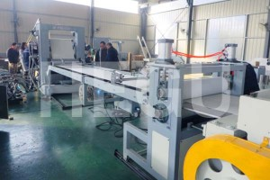 PVC sheet machine  PVC edge banding sheet extrusion machine