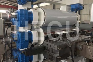 Wholesale Plastic Sheet Making Machine / Abs Sheet Extrusion Line / Abs Plate Production Line From