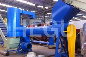 Manufactur standard Pvc Conical Extruder - Plastic recycling machine  PET bottles recycling machine – WOOD-PLASTIC