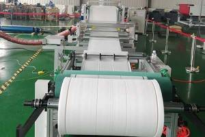 600-1600mm Filter material melt blown machine pp non woven fabric making machine