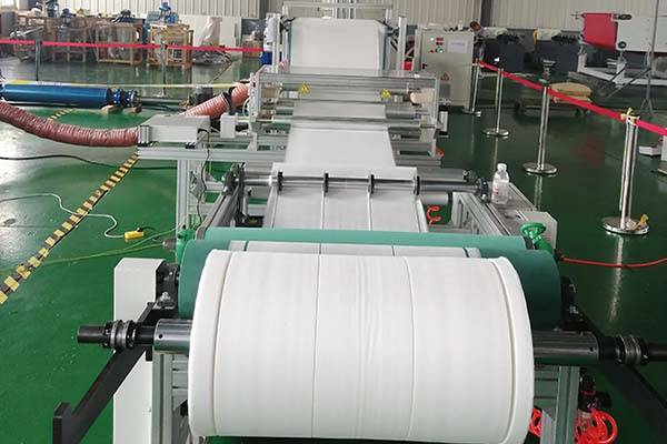 600-1600mm Filter material melt blown machine pp non woven fabric making machine Featured Image