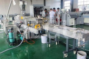 2019 New Style Recycle Plastic Granules Die-face Cutting Making Machine