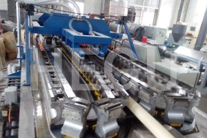100% Original Speed Plastic Pe Hdpe Single Double Wall Corrugated Pipe Extrusion Production Machine Line