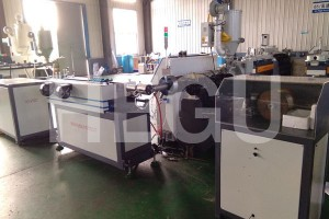 Corrugated pipe machine  PP wrapping steel wire  corrugated pipe machine