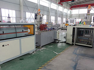 PE Carbon Spiral Pipe Making Machine