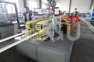 16-63mm PVC pipe extrusion line