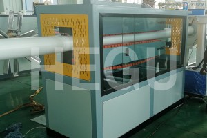 50-200mm drainage PVC pipe extrusion line