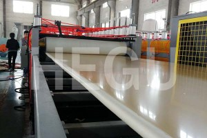 WPC foam board machine (1)