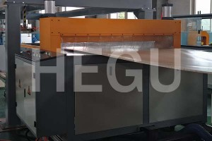 WPC foam board machine length cutting
