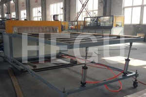 WPC foam board machine-stacker