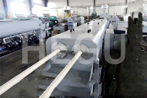 12-40mm Double cavity PVC pipe making machine