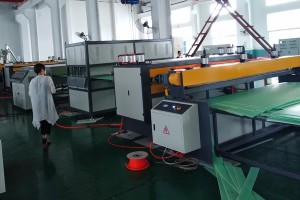co-extrusion pp hollow grid plastic making machine (1)_副本