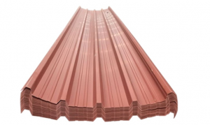 corrugated PVC plastic roof tile (2)