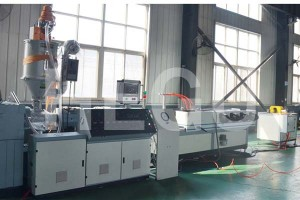 50 mm – 110 mm single wall corrugated pipe  making machine manufacturer price