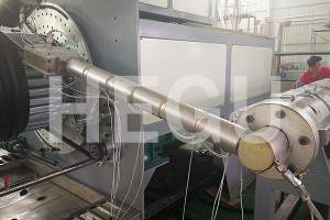 2200-3000mm large diameter PE pipe winding machine