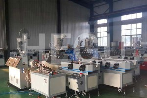Corrugated pipe machine  single wall corrugated pipe machine