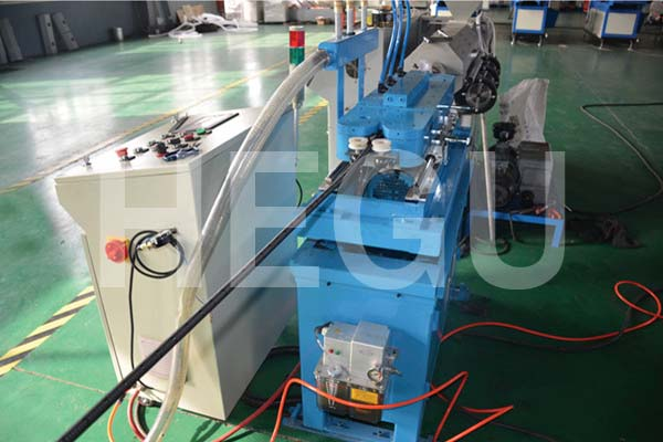 4.5 mm – 13mm  high speed  single wall corrugated pipe  machine Featured Image