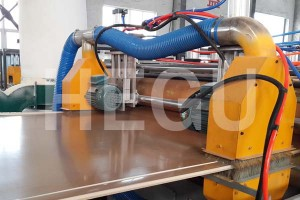 wpc foam board machine-edge cutting
