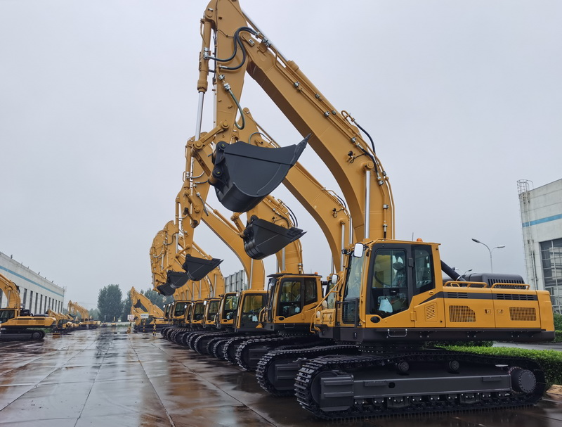 A good start in January, Excavator sales increased by 97.2%
