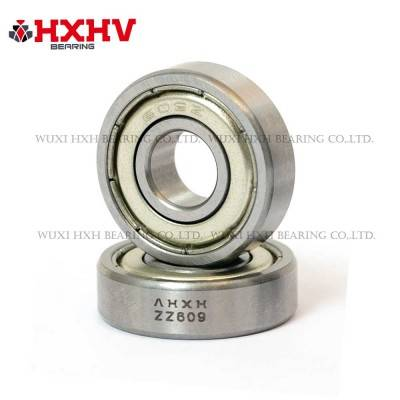 609zz with size 9x24x7 mm- HXHV Deep Groove Ball Bearing