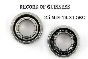 HXHV Bearing's new  Guinness Record– 25 min 43.21 sec
