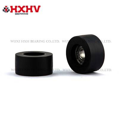 HXHV black rubber wheels