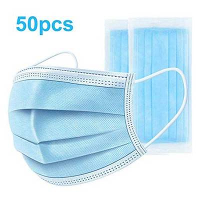 3 ply earloop non woven disposable protective face mask