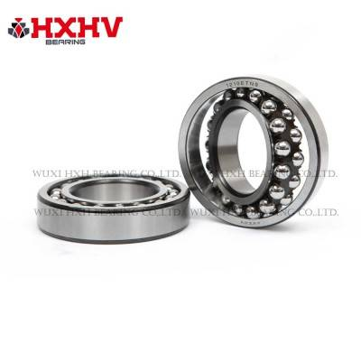 HXHV Self-aligning ball bearings 1210 ETN9 with black edge and nylon retainer