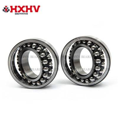 HXHV Self-aligning ball bearings 1210 with black steel retainer