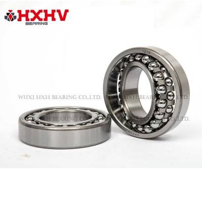HXHV Self-aligning ball bearings 1210 with steel retainer