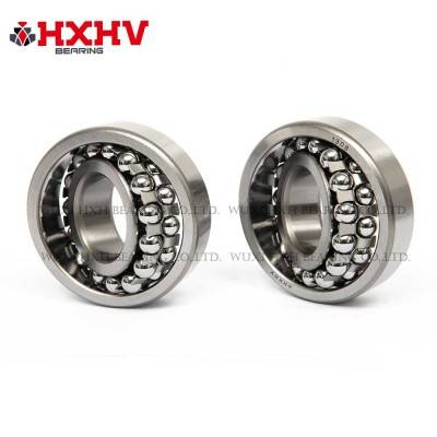 HXHV Self-aligning ball bearings 1308 with steel retainer
