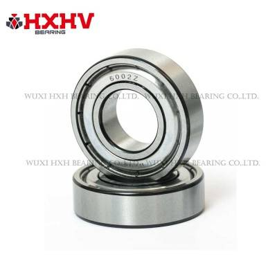 6002-zz with black edge- HXHV Deep Groove Ball Bearing