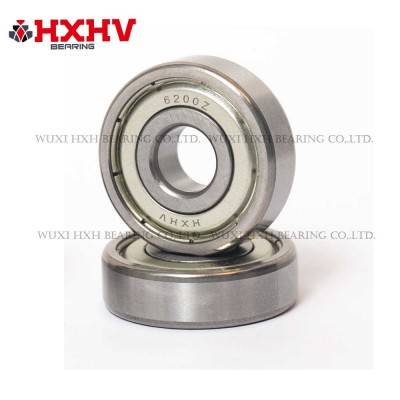 6200-zz with size 10x30x9 mm- HXHV Deep Groove Ball Bearing