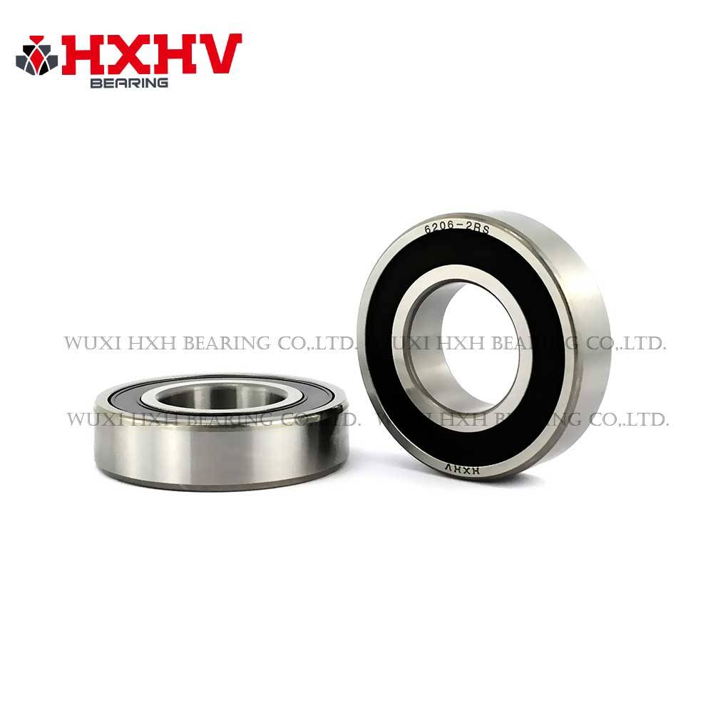 6206-2RS Premium 6206 2rs Bearing 2 Side Rubber Seal Ball Bearings Qty.1 NEW