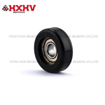 HXHV black sliding gate roller wheels