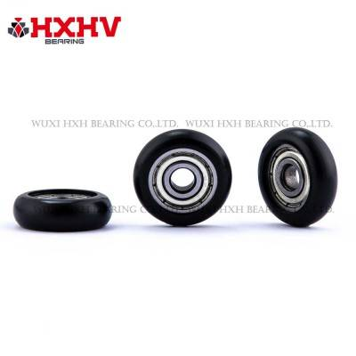 HXHV black sliding gate rollers