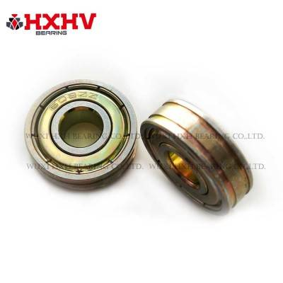 Wholesale Discount 608 Zz Abec 5 Ceramic – Chrome steel bearing 608ZZNN with zinc coated & 72 hours Salt Spray Test- HXHV Bearings