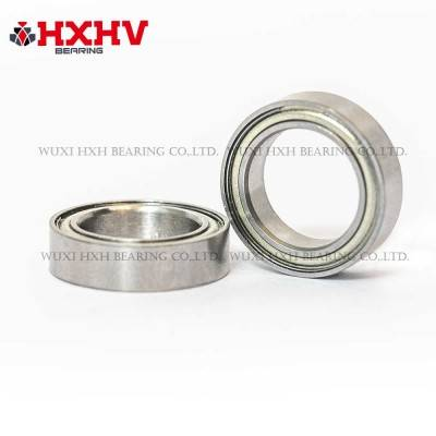 HXHV chrome steel thin section bearings 6700 zz with size 10x15x3 mm