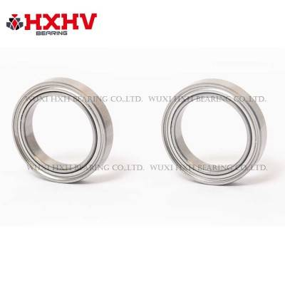 HXHV chrome steel thin section bearings 6702 zz with size 15x21x4 mm