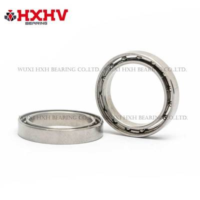 HXHV chrome steel thin section bearings 6703 with size 17x23x4 mm and open type.