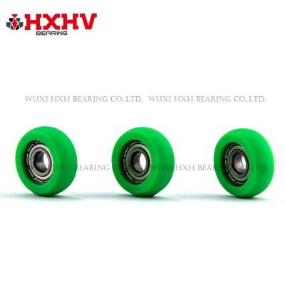 HXHV green sliding glass rollers