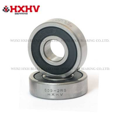 609-2rs with size 9x24x7 mm- HXHV Deep Groove Ball Bearing