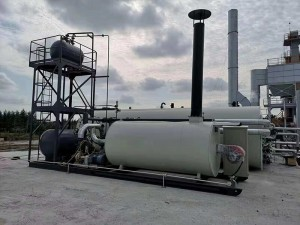 Diathermic oil Boiler-Ordinary type