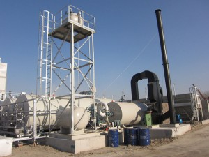 Diathermic oil Boiler-Hot air type