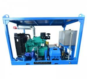 The diesel engine triplex plunger pump