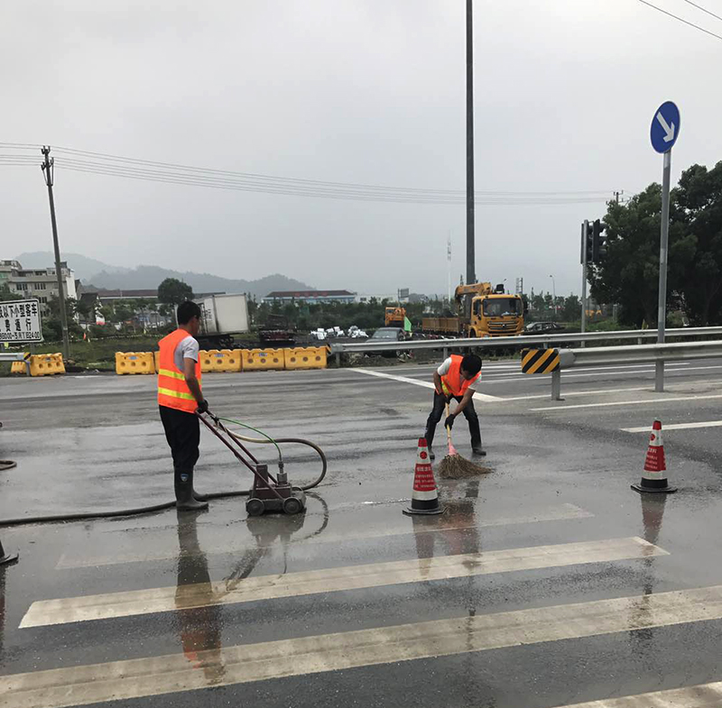 WuXi LiFeng Pump Provide Road Marking Removal Services FOR 20 YEARS